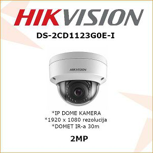 HIKVISION 2MP IP DOME KAMERA 2,8mm