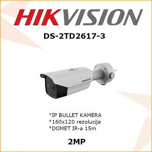 HIKVISION 2MP IP BULLET KAMERA 4mm