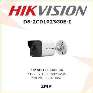 HIKVISION 2MP IP KAMERA 2.8mm DS-2CD1023G0E-I