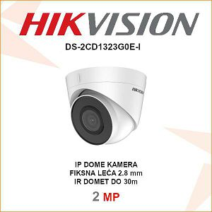 HIKVISION 2MP IP 2.8mm KAMERA ZA VIDEO NADZOR DS-2CD1323G0E-I