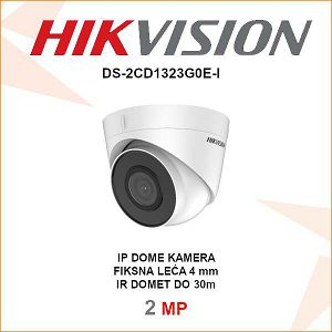 HIKVISION 2MP IP DOME 4mm KAMERA ZA VIDEO NADZOR DS-2CD1323G0E-I