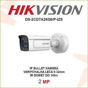 HIKVISION 2MP IP MOTOR-ZOOM KAMERA 8-32mm DS-2CD7A26G0/P-IZS