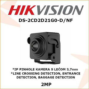 HIKVISION 2MP IP PINHOLE KAMERA 3,7mm