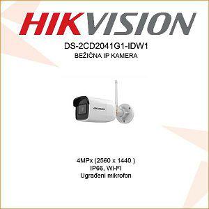 HIKVISION 4 IP BULLET KAMERA 2,8mm