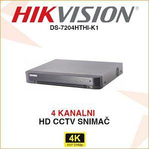 HIKVISION 4 KANALNI 8MP(4K) SNIMAČ