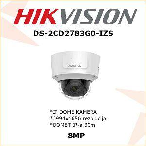 HIKVISION 4K IP MOTOR-ZOOM KAMERA ZA VIDEONADZOR DS-2CD2783G0-IZS