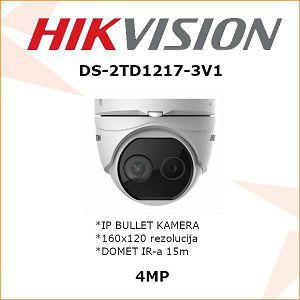 HIKVISION IP 4MP DOME KAMERA