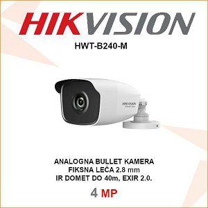 HIKVISION 4MP EXIR BULLET 2.8mm KAMERA HWT-B240-M