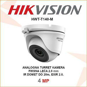 HIKVISION 4MP EXIR TURRET KAMERA HWT-T140-M
