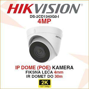 HIKVISION 4MP IP DOME KAMERA ZA VIDEO NADZOR DS-2CD1343G0-I1
