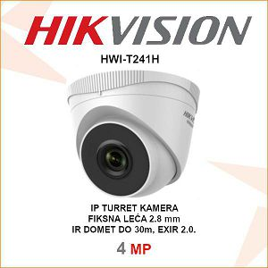 HIKVISION 4MP IP EXIR TURRET KAMERA HWI-T241H