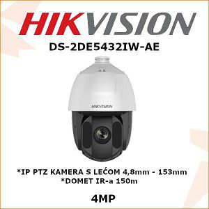 HIKVISION 4MP IP PTZ KAMERA 4,8mm - 153mm