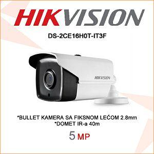 HIKVISION 5MP BULLET KAMERA 2,8mm