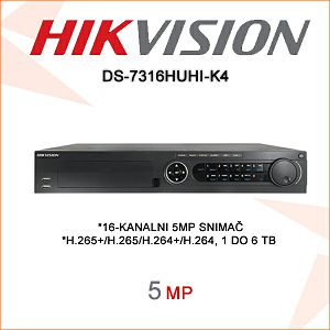 HIKVISION 8MP 4K DIGITALNI VIDEO SNIMAČ
