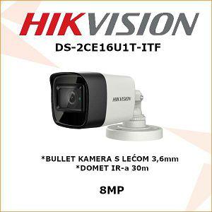 HIKVISION 8MP BULLET KAMERA 3.6mm