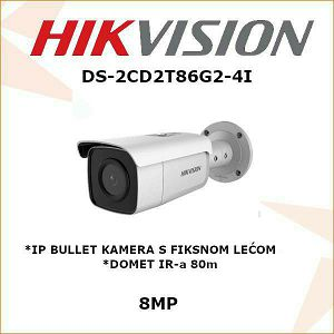 HIKVISION 8MP IP BULLET KAMERA 2.8mm