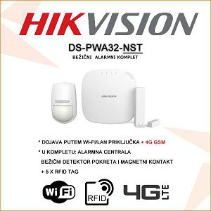 HIKVISION BEŽIČNI 4G/ WI-FI/LAN/ ALARMNI KOMPLET