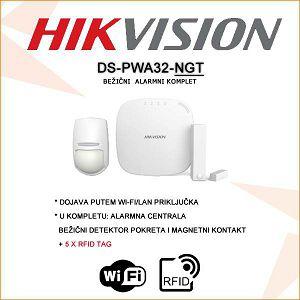 HIKVISION BEŽIČNI WI-FI/LAN ALARMNI KOMPLET + RFID