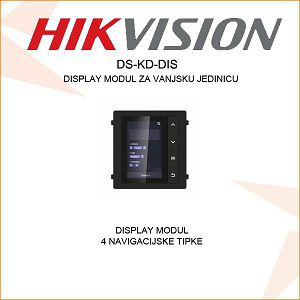 HIKVISION DISPLAY MODUL S 4 TIPKE DS-KD-DIS