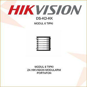 HIKVISION MODUL 6 POZIVNIH TIPKI DS-KD-KK