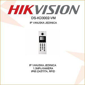 HIKVISION PORTAFON VANJSKA JEDINICA DS-KD3002-VM