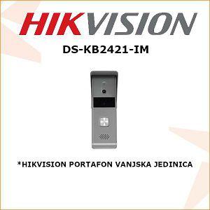HIKVISION PORTAFONSKA VANJSKA JEDINICA DS-KB2421-IM
