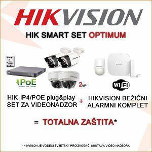 HIKVISION SMARTHOME KOMPLET VIDEONADZOR + BEŽIČNI ALARM