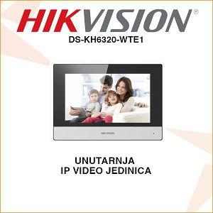 HIKVISION UNUTARNJA PORTAFONSKA JEDINICA DS-KH6320-WTE1