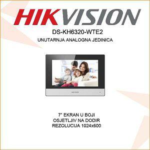 HIKVISION UNUTARNJA PORTAFONSKA JEDINICA DS-KH6320-WTE2