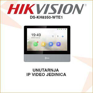 HIKVISION UNUTARNJA PORTAFONSKA JEDINICA DS-KH8350-WTE1