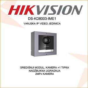 HIKVISION VANJSKA MODULARNA JEDINICA S 1 TIPKOM I KAMEROM DS-KD8003-IME1