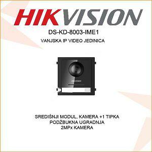 HIKVISION VANJSKA MODULARNA JEDINICA S KAMEROM I 1 TIPKOM  DS-KD-8003 IME1
