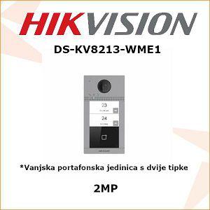 HIKVISION VANJSKA PORTAFONSKA JEDINICA S 2 TIPKE