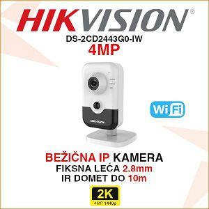 HIKVISION WIFI KAMERA SA PIR DETEKTOROM 4MP