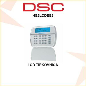 DSC LCD TIPKOVNICA HS2LCDEE3