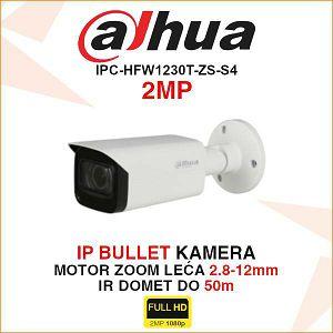 DAHUA 2MP IP MOTOR-ZOOM BULLET KAMERA IPC-HFW1230T-ZS-S4