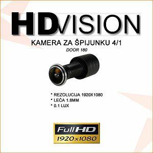 KAMERA ZA ŠPIJUNKU FULL HD 1080P 4/1