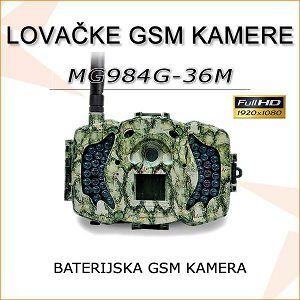LOVAČKA/SECURITY BATERIJSKA GSM 4G  KAMERA