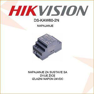NAPAJANJE ZA HIKVISION PORTAFON DS-KAW60-2N
