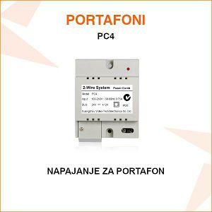 NAPAJANJE ZA PORTAFON PC4