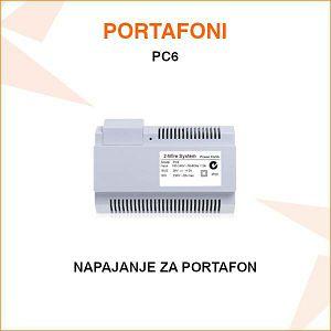 NAPAJANJE ZA PORTAFON PC6