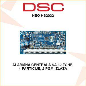 DSC NEO ALARMNA CENTRALA NEO HS2032