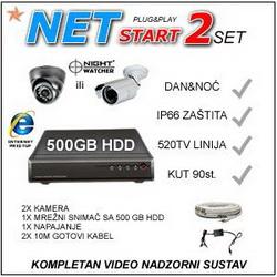 VIDEONADZOR - NET2START IR520