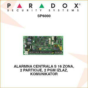 PARADOX ALARMNA CENTRALA SP6000