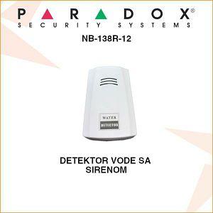 PARADOX DETEKTOR VODE SA UGRAĐENOM SIRENOM NB-138R-12