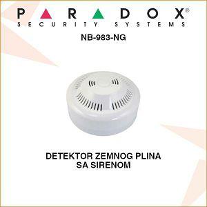 PARADOX DETEKTOR ZEMNOG PLINA SA SIRENOM NB-983-NG