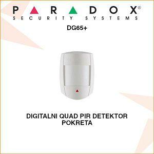 PARADOX DIGITALNI QUAD PIR DETEKTOR POKRETA DG65+