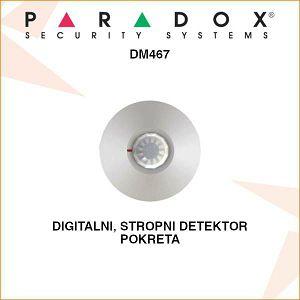 PARADOX DIGITALNI STROPNI DETEKTOR POKRETA DM467