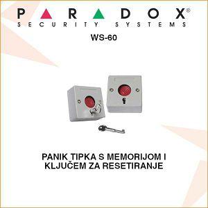 PARADOX PANIK TIPKA WS-60