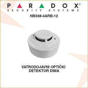 PARADOX VATRODOJAVNI OPTIČKI DETEKTOR DIMA NB338-4ARB-12